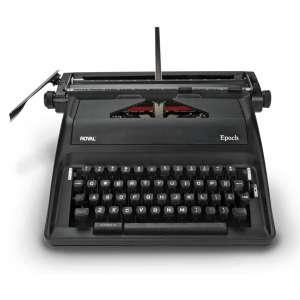 Royal Manual Black Typewriter