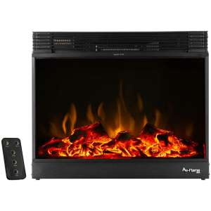 e-Flame USA Vermont Electric Fireplace Stove Insert with Remote Control