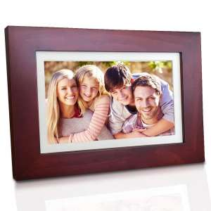 eco4life 8 Inches Cloud Digital Photo Frame with 1280x800 LCD IPS Display