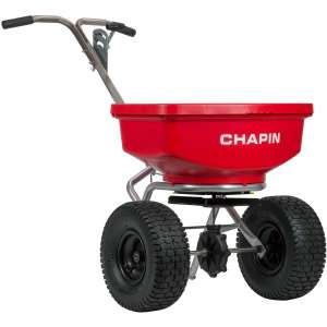 Chapin International Inc. 8401C Chapin 80 Lb. SureSpread Professional Spreader, Red