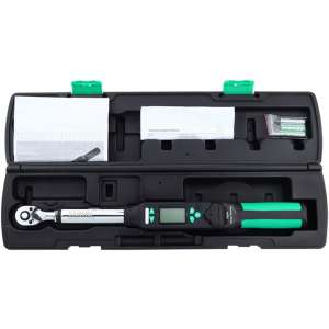 Digital Torque Wrench - 3 Measuring Modes, 4 Torque Units, High Precision Bidirectional Ratchet Wrench