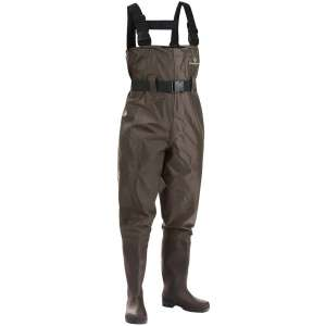 FISHINGSIR Fishing Chest Waders for Men with Boots Mens Womens Hunting Bootfoot