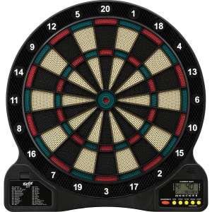 Fat Cat 727 Electronic Dartboard, Easy To Use Button Interface, Automatic Voice Feedback