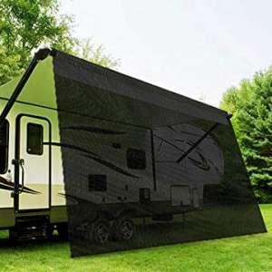 RV Awning Shade 95% Shade Complet Kits 6'x15'