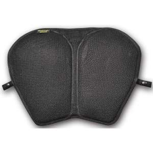 Skwoosh Xl Touring Sport Cruiser Motorcycle Gel Seat Pad with Breathable Cooling Mesh Fabric Cushion made in USA