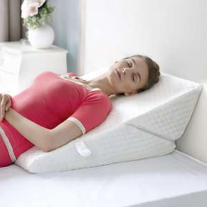 Adjustable Bed Wedge Pillow Exclusive 7-in-1 Incline and Positioner Memory Foam Pillow