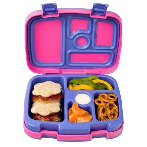 Bentgo Kids Brights – Leak-Proof, 5-Compartment Bento-Style Kids Lunch Box