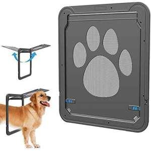 CATOOP Pet Dog Cat Screen Door, Pet Screen Door Protector for Sliding Door