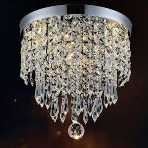 Hile Lighting Ceiling Crystal Chandelier