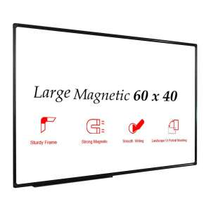 JILoffice Magnetic White Board for Office, School, and Home Use