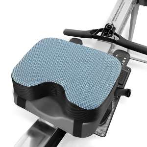 Kohree Rowing Machine Seat Cushion for Concept 2, Model D & E, Indoor Water Rower Machine Seat Pad with Thicker Memory Foam