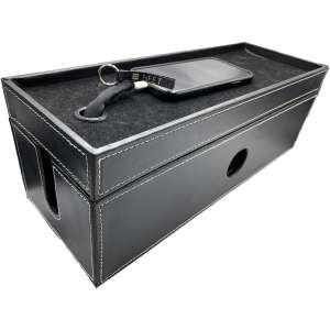 NEET Cable Organizer Box Large, Computer Cord Organizer, Hide and Conceal