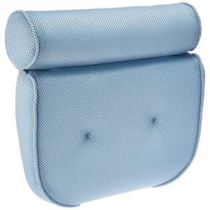 BodyHealt Home Spa Bath Pillow – Ergonomic Neck, Shoulder & Back Support While in the Tub