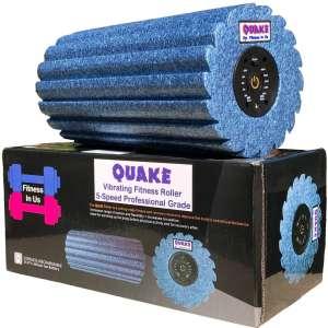 Quake 5 Speed Vibrating Foam Roller – Deep Tissue Massager, Trigger Point