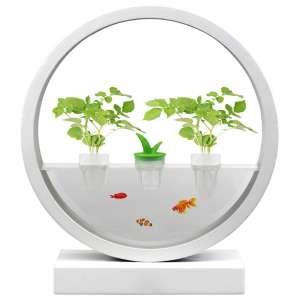 VegeBox Hydroponics Growing System with LED Indoor Garden Light, Indoor Herb Garden
