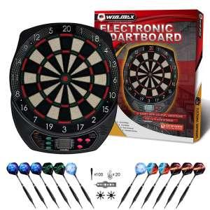 WIN.MAX Electronic Dart Board,Soft Tip Dartboard Set LCD Display