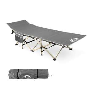 ARAER Camping Cot -Outdoor Bed with Carry Bag
