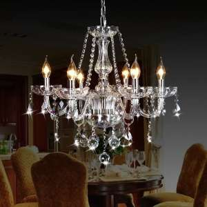 CRYSTOP Candle Chandelier