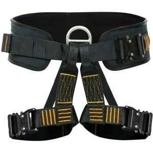Fusion Climb Apollo III Military Tactical Padded Half Body Adjustable Zipline Harness