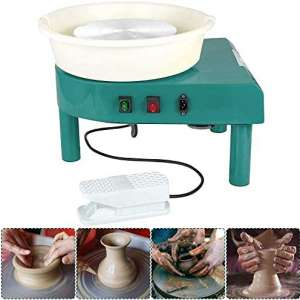 L.HPT Pottery Wheel 25CM Pottery Forming Machine 350W Electric Pottery Wheel