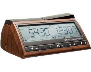 DGT 3000 Limited Edition - Wooden Look Digital Chess Timer - New Chess Clock