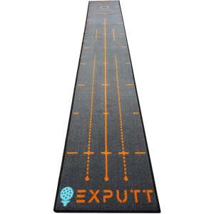 EXPUTT Indoor Putting Green, Golf Putting Practice Mat with Carry Bag