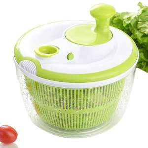 Large Salad Spinner and Keeper - 5L Lettuce Spinner Vegetable Washer Dryer