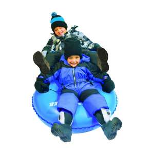 Slippery Racer Airdual Blue Inflatable Snow Tube