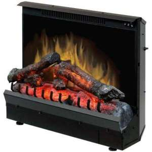 Dimplex Electric Fireplace Deluxe 23-Inch Insert, Black