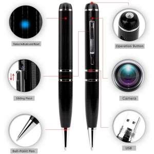 Hidden Spy Camera - Pen DVR Cam 1296P 32G Video Recording Pen OV4689 Full Real 2K