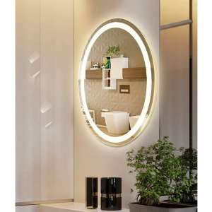 M LTMIRROR LED Lighted IP66 Waterproof Bathroom Mirror