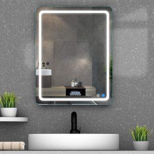 MAISTECH Dimmable Lighted Bathroom Mirror