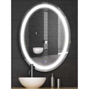 MAISTECH LED Bathroom Mirror with Dimmable Lighted Bathroom Mirror