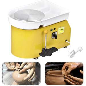 Mein LAY Pottery Wheel Forming Machine 25CM Electric Pottery Wheel DIY Machine