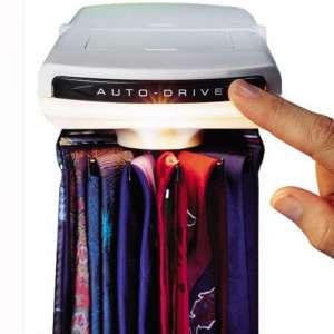 New, Sharper Image Design Auto-Drive Tie Rack