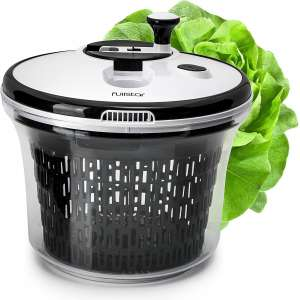 Salad Spinner Lettuce Dryer Large with Bowl and Colander Basket