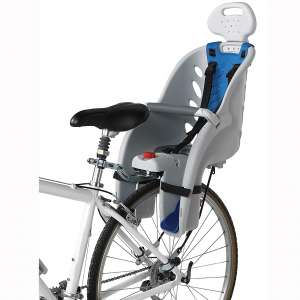 Schwinn Deluxe Bicycle Mounted Child Carrier:Bike Seat For Children, Toddlers, and Kids