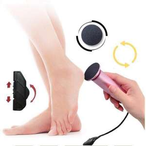 Aceyyk Electric Foot File,Electric Foot Callus Remover with 60Pcs Replacement Sanding Pads Powerful Pedicure Foot Sander Machine