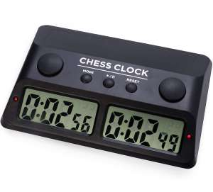 Digital Chess Clock Customizable Chess Timer for Professional, Tournament Play
