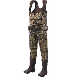 HISEA Chest Waders Neoprene Duck Hunting Waders for Men with Boots Camo Fishing