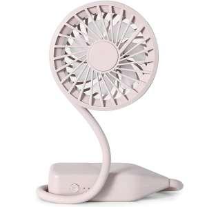 SKOLOO Rechargeable Portable Mini Neck Fan