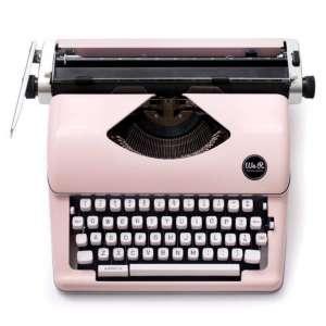 We R Memory Keepers 310297 Typecast-Pink Typewriter