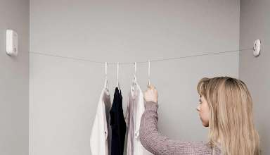 image feature Retractable Clothesline Outdoors