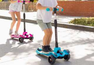 image feature foldable scooter for kids