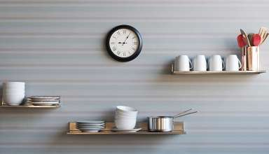 image feature stainless steel wall shelfs