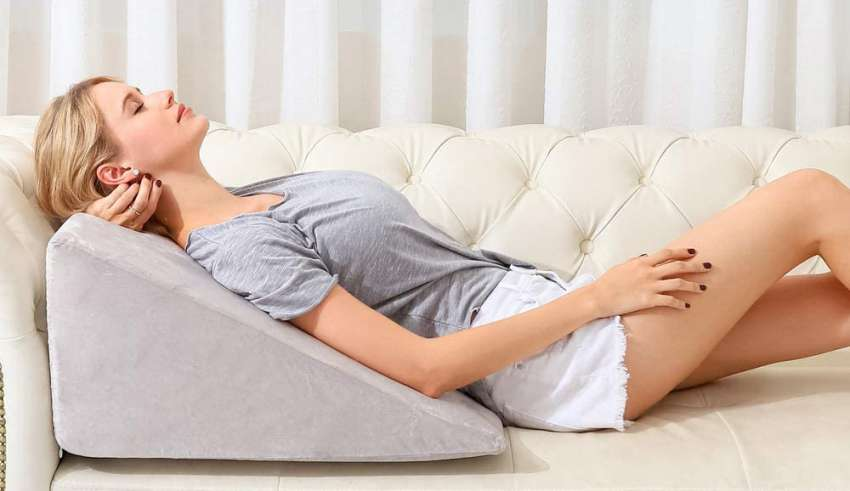image feature wedge pillows