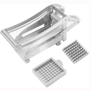 French Fry Cutter Stainless Steel French Fries Slicer Potato Cutter Chipper Chopper Maker