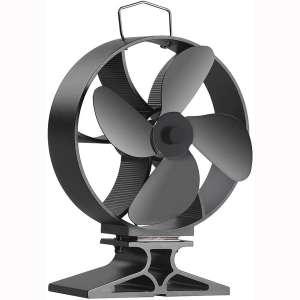 Morinoli Upgraded 4 Blade Fireplace Fan Heat Powered Stove Fan for Wood:Log Burner:Fireplace
