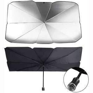 N:Z Car Sun Umbrella Car Windshield Sun Shade Blocks UV Rays Sun Visor Protector Windshield Sun Shade