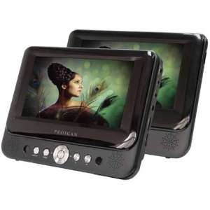 Proscan 7-Inch Dual Screen Portable DVD Player with USB